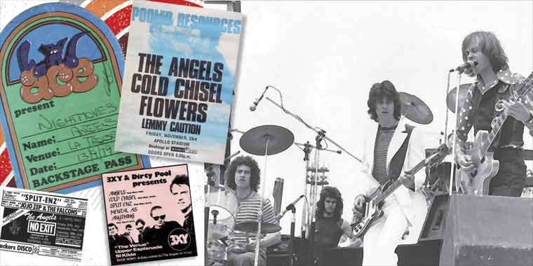 The Angels - Two Huge New 40th Anniversary Albums - Including Special 40th Anniversary Liner Notes & Artwork